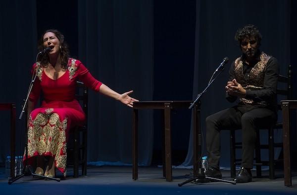 Marina Heredia y Arcángel Foto David Mudarra