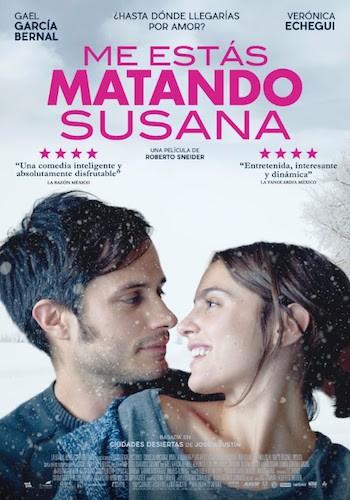 Me estás matando Susana cartel