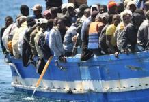Migrantes africanos en el Mediterráneo