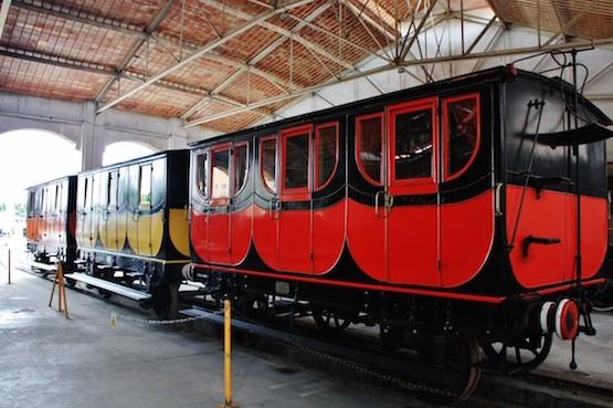 Museo-ferrocarril-Vilanova-Geltru-vagones