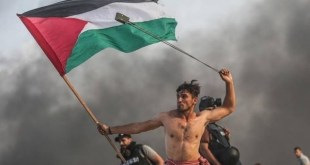 La foto de la resistencia popular palestina