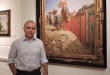 Marco Bertoli en una fotografía de Adriana Bianco