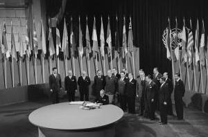 Imagen de constitución de las Naciones Unidas