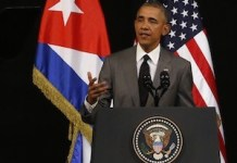 Obama pronuncia su discurso al pueblo cubano. Foto Jorge Luis Baños/IPS