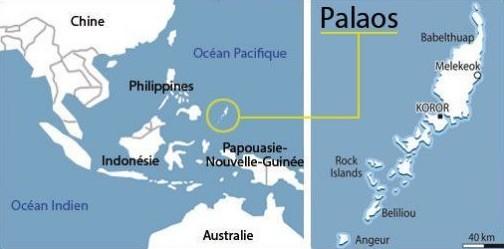 Palaos-mapa