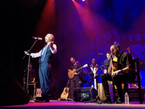Pitingo y su orquesta en el Festival del Cante de las Minas 2018