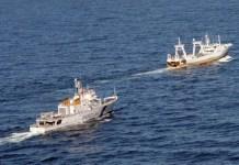 Playa Pesmar Uno perseguido patrullera argentina. FOT: fis.com