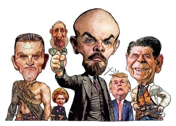 Revolucionarios por Xulio Formoso