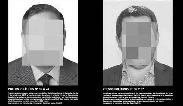 Santiago Sierra presos politicos