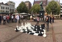 Scheffersplein Dordrecht ajedrez