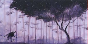 The forest in me, ilustración de Adolfo Serra