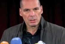 Yannis Varoufakis en la presentación de DIEM25 en Berlín
