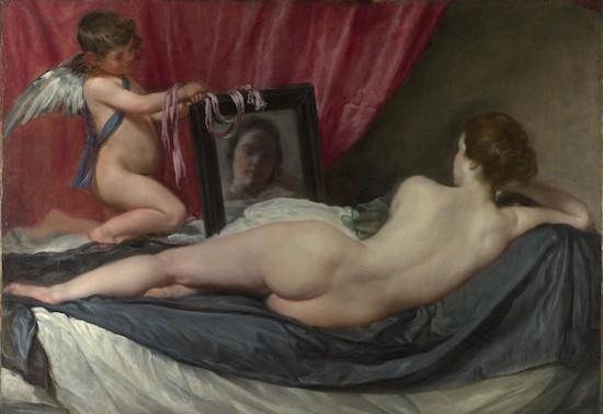 Velázquez: La Venus del espejo
