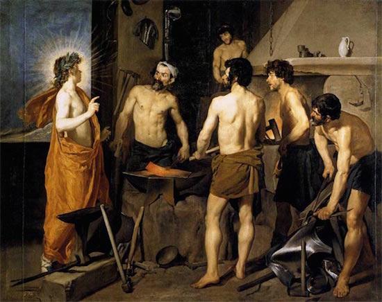 Velázquez: la fragua de Vulcano