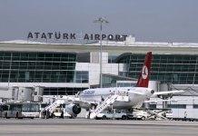 Aeropuerto internacional de Ataturk, Estambul.