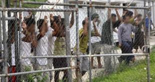 Campamento para personas refugiadas de la filial de Ferrovial en Manus