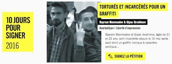 Amnistía: 10 días para firmar a favor de personas sin derechos