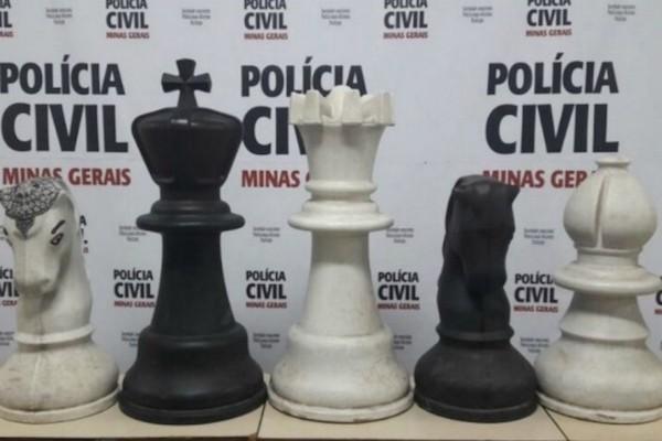 Piezas del ajedrez de Poços de Caldas