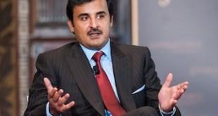 Tamim bin Hamad Al Thani en la Universidad de Georgetown