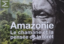 Cartel de la exposición Amazonie