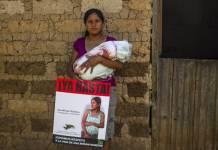 Ana Miriam Moreno, miembro de MILPAH, Santa Elena, La Paz, Honduras © Amnesty International. Photo by Taracena