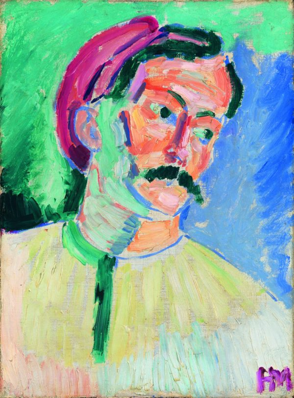 Retrato de André Derain por Henri Matisse 1905.Succession H. Matisse/VEGAP/2016. Tate, London 2016