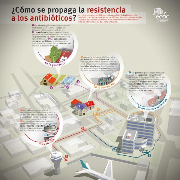 ECDC resistencia a los antibióticos