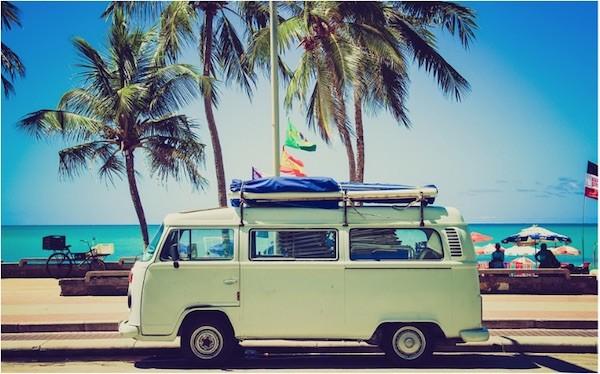 autocaravanas playa turismo