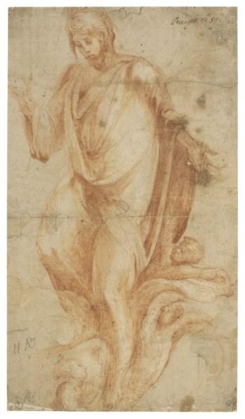 A. Berruguete, Cristo salvador