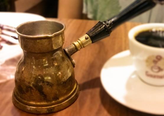 Ibrik para el café turco
