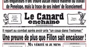 Le Canard Enchainé del 8 de febrero de 2017