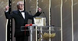 Ken Loach celebra la Palma de Oro conseguida en Cannes 2016