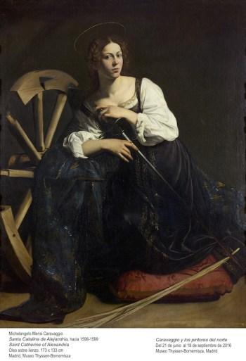 CARAVAGGIO (Michelangelo Merisi)_Santa Catalina de Alejandría_81 (1934.37)