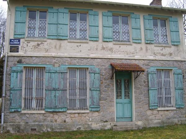 Casa en las Ardenas francesas del poeta Arthur Rimbaud