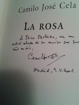 Cela, dedicatoria de La Rosa a Paco Pastoriza
