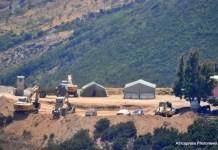 Zanjas antipersona construidas por Marruecos en las cercanías de Ceuta