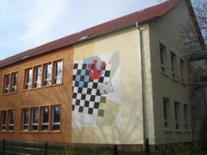 Fachada de la escuela de ajedrez Emanuel Lasker.