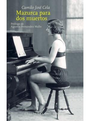 """Portada de Mazurca para dos muertos"""" (Ediciones del Viento)"""