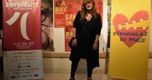 Isabel Coixet en la apertura de Different, coorganizado por Espagnolas en París