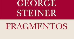 "Steiner: ""Fragmentos"", portada de Siruela"