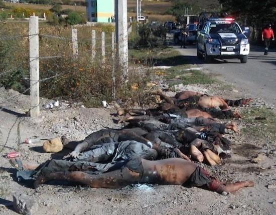 Cuerpos calcinados en Guerrero