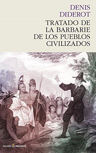 Portada del Tratado de la Barbarie de los pueblos civilizados de Denis Diderot