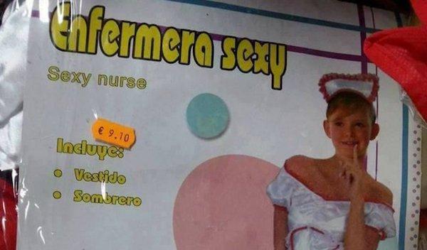 Enfermera sexy: una oferta para niñas deDisfraces Alegría SL