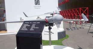 Un dron suicida israelí usado por Azerbaiyán contra Armenia