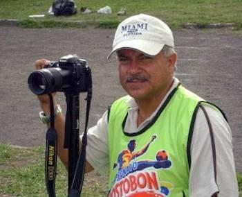 Elmer Agudelo Vidales, fotoperiodista especializado en deportes, Colombia