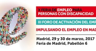 X Feria de Empleo para personas con Discapacidad