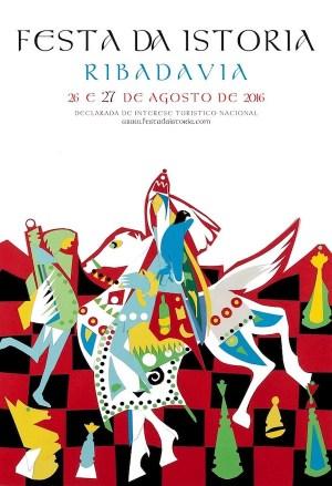 Cartel da Festa da Istoria 2016.