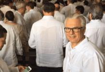 Baltasar Garzón en la firma de los acuerdos de Paz en Colombia