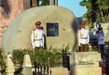 Mauselo donde reposan las cenizas de Fidel Castro