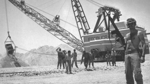 Explotación español de fosfatos en el Sáhara